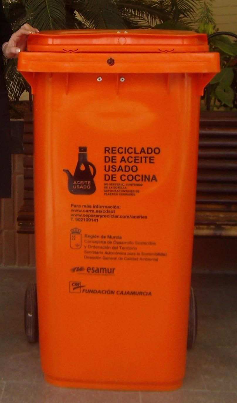 Campa a de recogida de aceite ayuntamiento de fuente lamo - Aceite usado de cocina ...