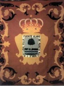 Foto de estandarte y escudo en el Salón Consitorial.