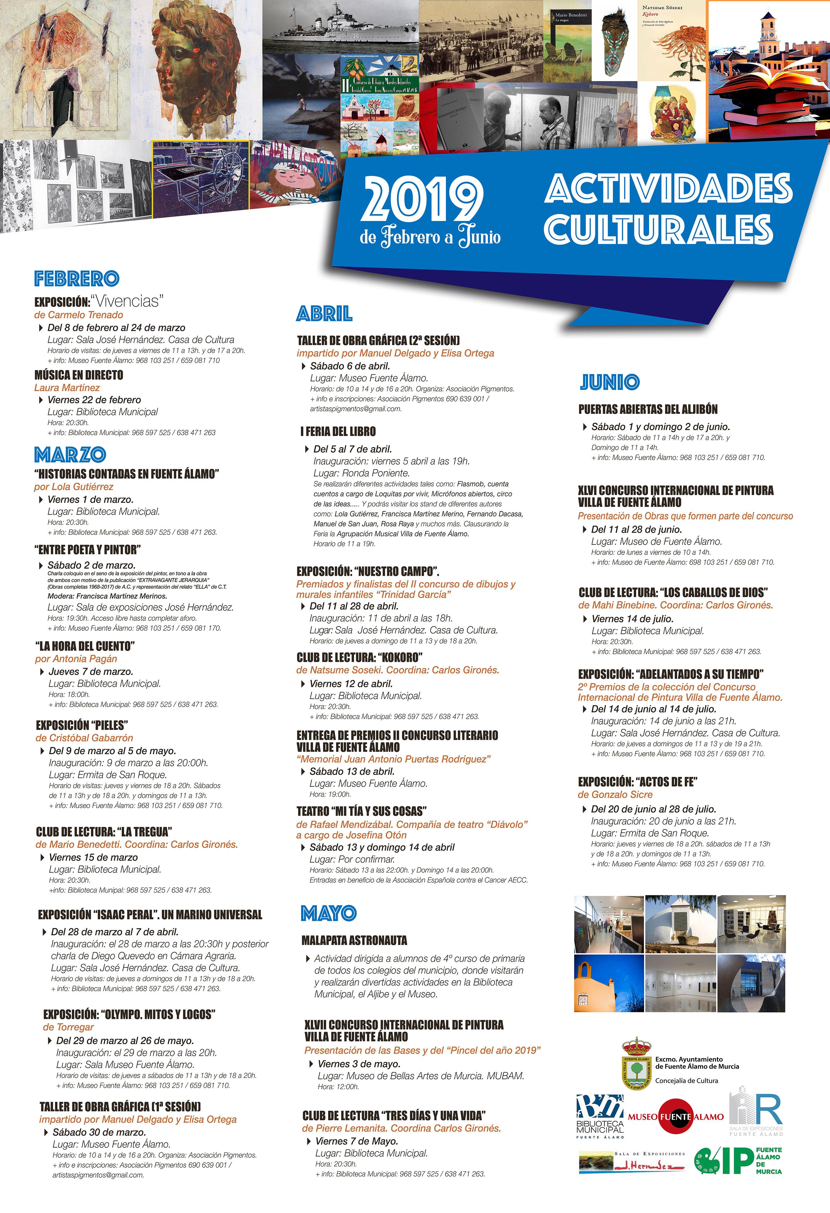 Agenda Cultural Ayuntamiento de Fuente Álamo